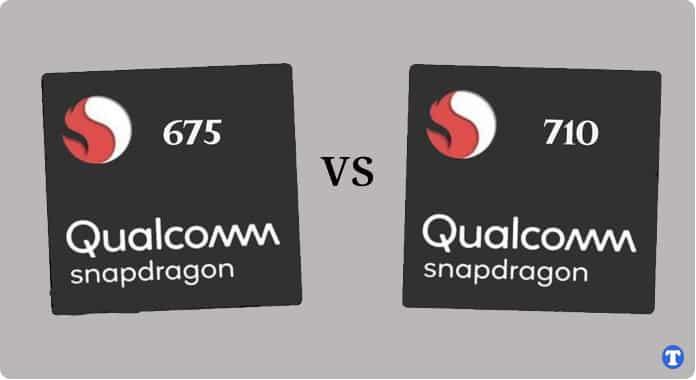 snapdragon 675 vs 710