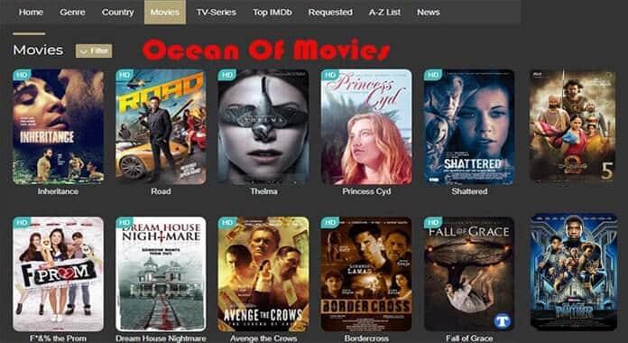 ocean of movies website  2021