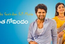 geetha govindam leaked full movie download