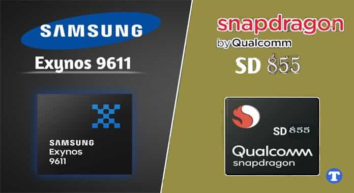 Exynos 9611 vs Snapdragon